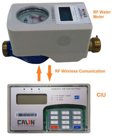 Good Quality Prepaid Electricity Meters & Split Type Residential Prepaid Water Meters Rf Communication Electronic Latched Valve on sale