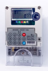 Good Quality Prepaid Electricity Meters & GPRS Advanced Metering System 1 Phase STS  Prepaid  Meters Load Management  Real Time Data on sale