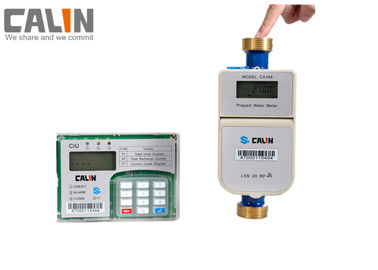 Good Quality Prepaid Electricity Meters & Tamper and Fraud Proof STS Prepaid Water Meter With a CIU in Home RF Communication on sale