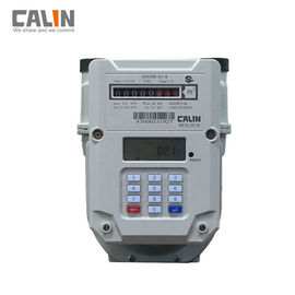 Good Quality Prepaid Electricity Meters & Steel Prepaid Electronic Gas Meter G1.6 / G2.5 / G4 , Low Credit Warning on sale