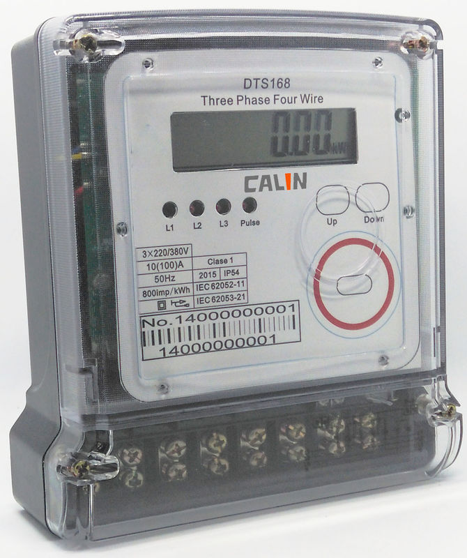 Electronic Electric Meter : Backlit lcd prepaid electricity meters a digital electric