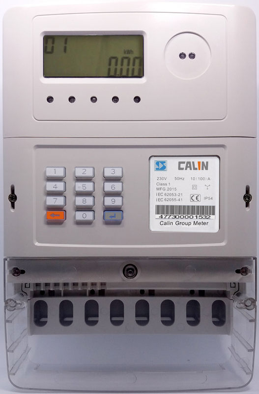 Lightening protection 	STS Prepaid Meters , Backlit LCD 3 Phase Kwh Meter