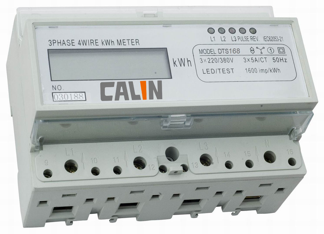 Kilowatt Hour Meter : Four wire three phase kilowatt hour meter rtu protocol