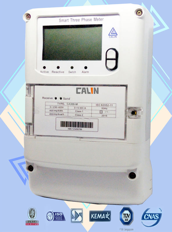 Three Phase Electricity Meter : Channel commercial electric meter three wire four
