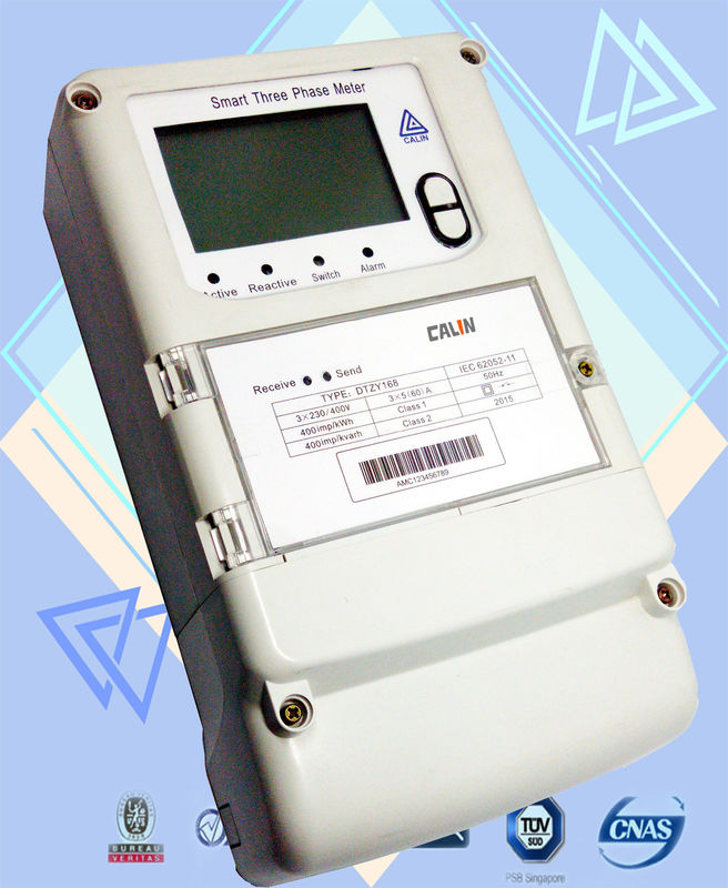 Three Phase Electricity Meter : Programmed channel three phase kwh meter digits amr