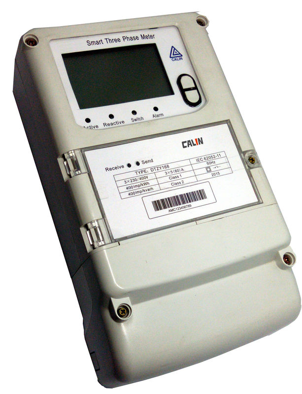 Residential Electricity Monitors : Wireless phase electric meter residential prepaid power