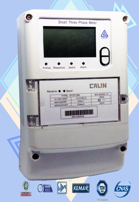 Three Phase Electricity Meter : Amr ami load management three phase power meter smart