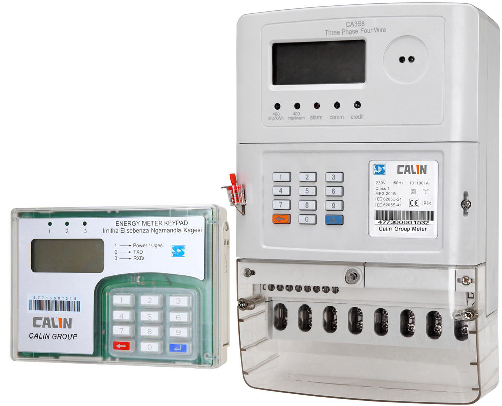 Three Phase Electricity Meter : Three phase prepaid electricity meters plc rf commercial