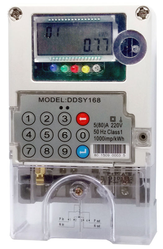 2 Phase Power Meters : Phase single electricity meter two way