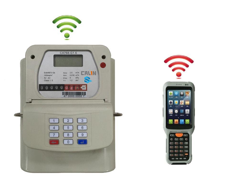 Handheld Rf Meter : Hand held unit hhu gas prepayment meter rf communication
