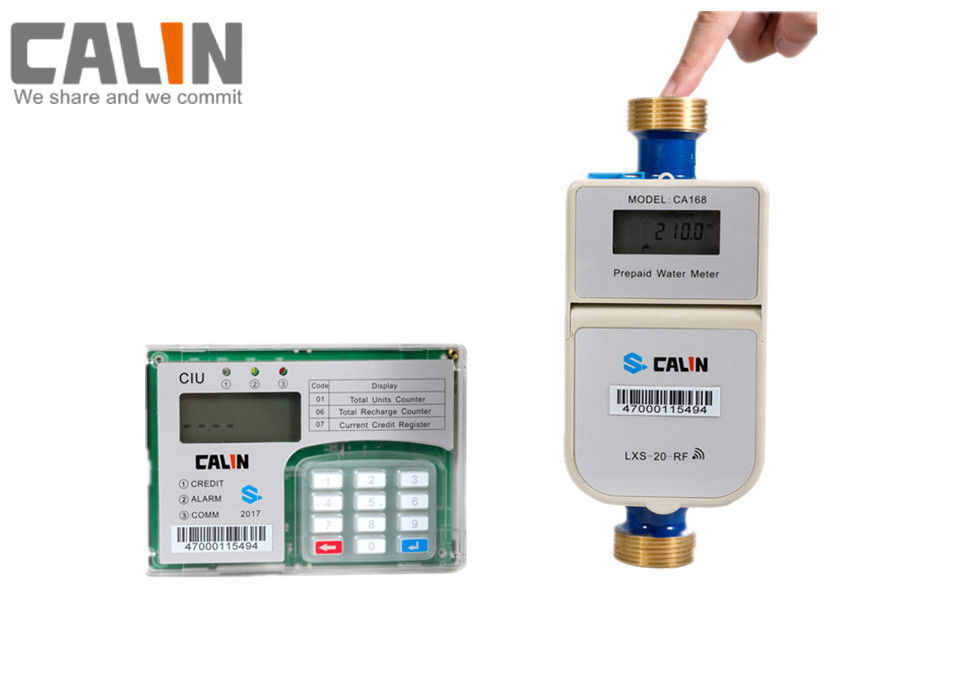 Tamper and Fraud Proof STS Prepaid Water Meter With a CIU in Home RF Communication