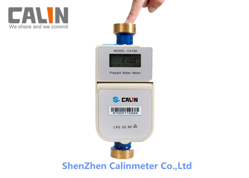 RF Communication High Accuracy Prepaid Water Meter with AMI/AMR System split design