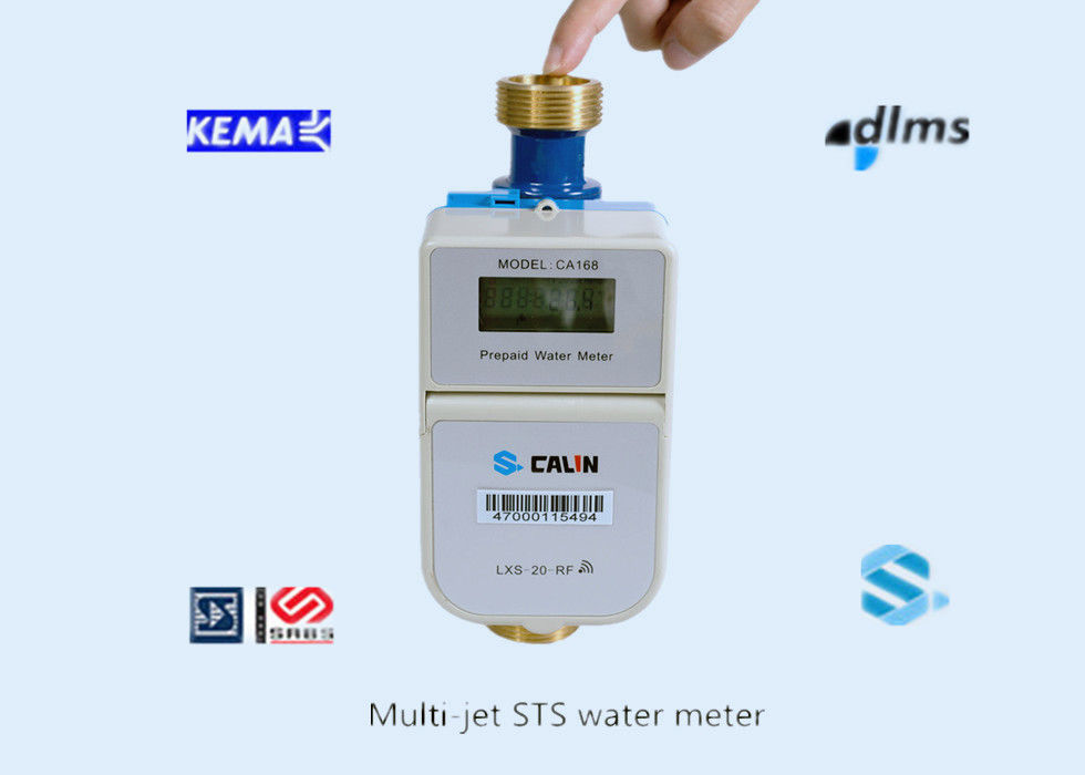 Ethiopia STS Compliant Split Keypad Prepaid Water Meter with RF Communication Battery Operated