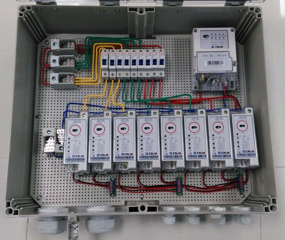 1 Phase 470mHz STS SABS Din Rail Power Meter Credit
