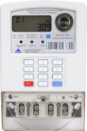 Power Line Carrier STS Prepaid Meters Tariff Control Smart Meters For Electricity