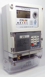 STS Commercial 3 Phase Electric Meter , Prepayment Electricity Meters