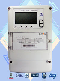 Anti - Tamper Commercial Electric Meter , Optical Port Wireless Power Meter
