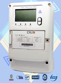 4 Channel Commercial Electric Meter , Three Wire / Four Wire 3 Phase Kwh Meter