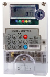 1 Phase Single Phase Electricity Meter Two Way Communication Prepayment Meters