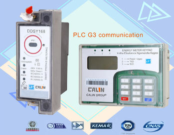 China Tamper Proof Wireless Electricity Meter Split Type , Prepayment Electric Meters factory