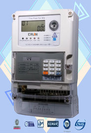 Polyphase STS Prepayment Meters Low Credit Warning Smart Power Meter
