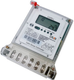Multi - Tariff 2 Phase Electric Meter , Bi - Directional Customized Kwh Power Meter