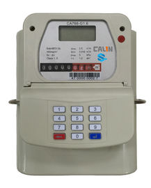 STS Steel Material Smart Keypad Prepaid Gas Meter With Gas Vending System tamper protection