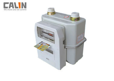 IC Card Type White Gas Electric Payment Meters STS Compliant Steel Body