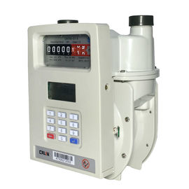 Domestic GPRS Remote Reading Prepaid Gas Meter With AMR / AMI System